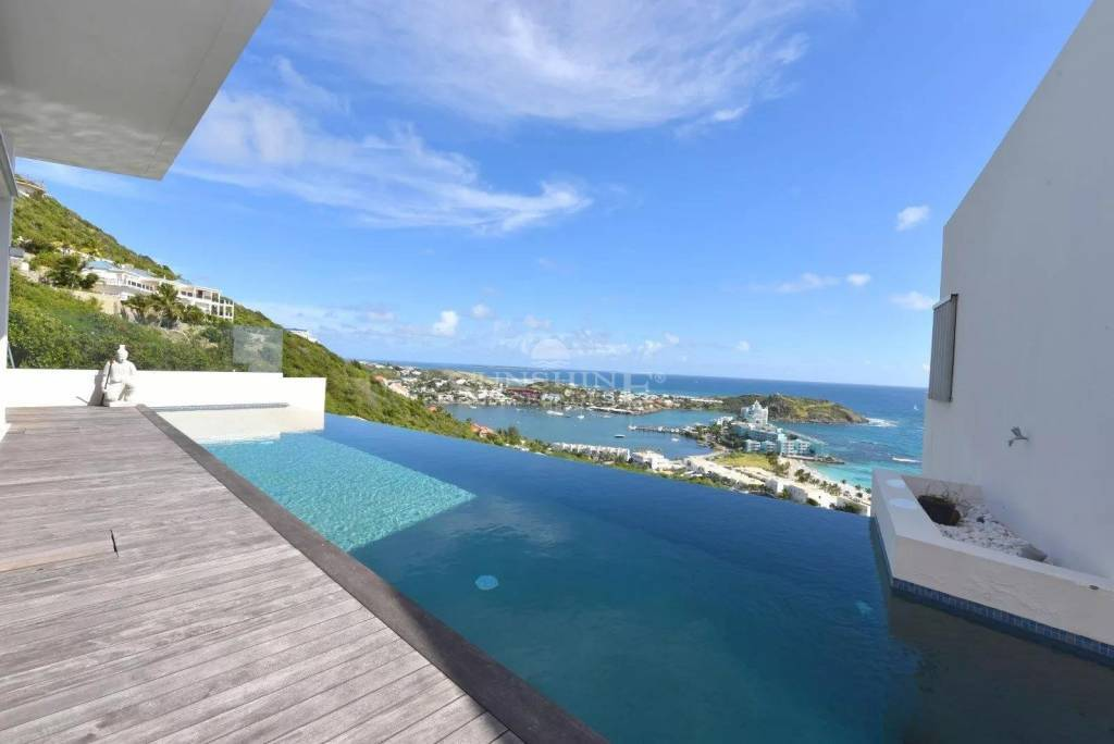 Oyster Pond stunning infinity pool
