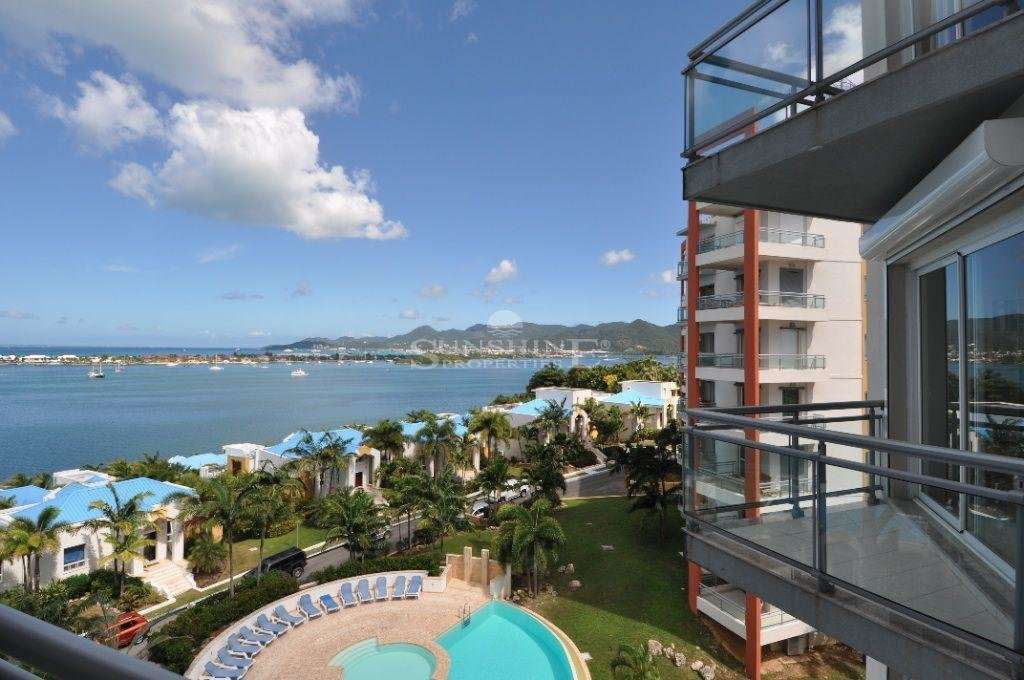 Luxury condo with panoramic water views
