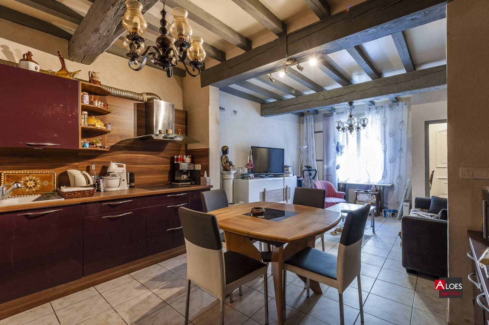 Dining room Tile Chandelier