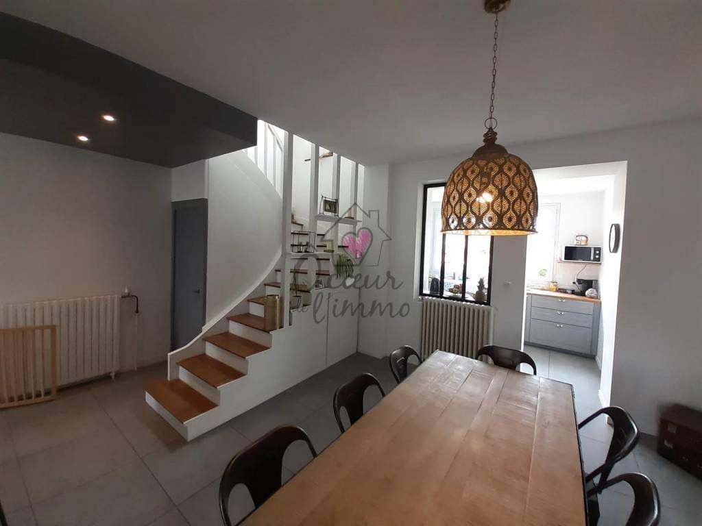 Maison quartier Sacré Coeur  :  113m2 habitables + Garage 19m2