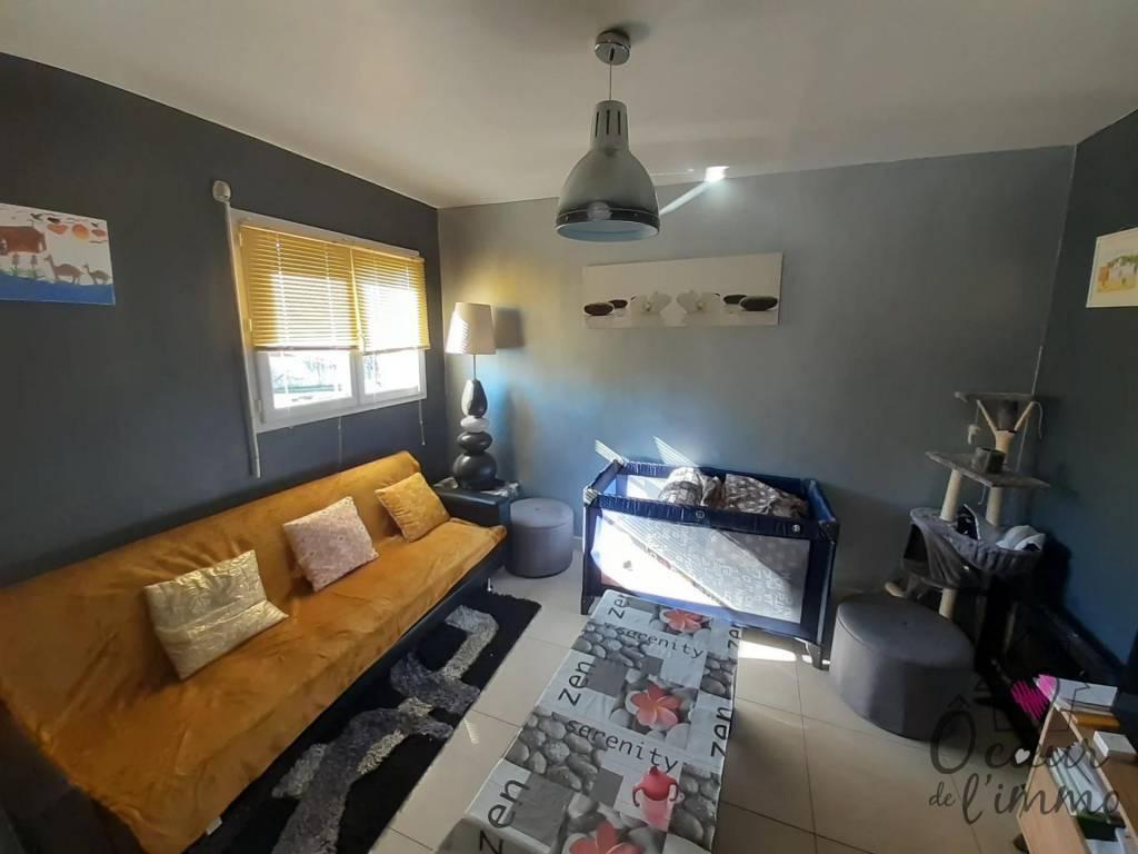 Maison 148 m2 habitable : 3 chambres + 1 bureau.