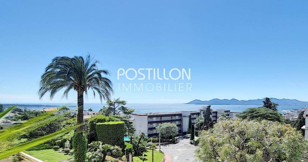 Cannes 3P Terrasse vue Panoramique
