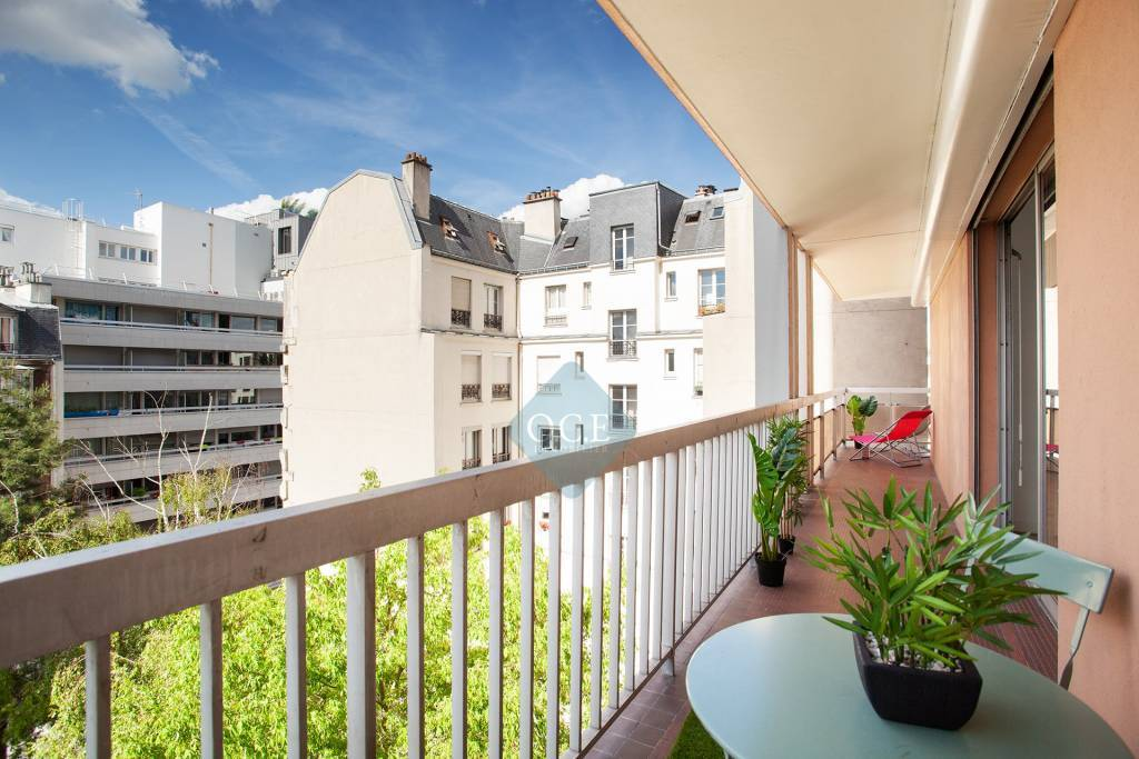 Appartement de 46m² avec 20m² de balcon / terrasse
