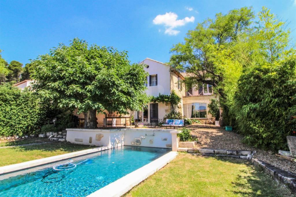 Maison avec piscine Maussane les Alpilles vendue par Von Peerc immobilier