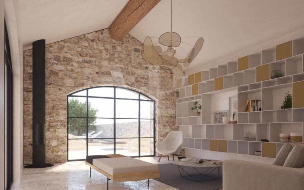 Maison proche centre village Maussane les Alpilles vendu par Von Peerc Immobilier