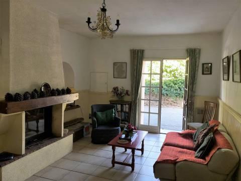 Living-room Tile Chandelier Fireplace