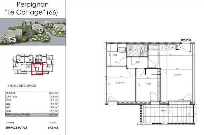 Sale Apartment Perpignan