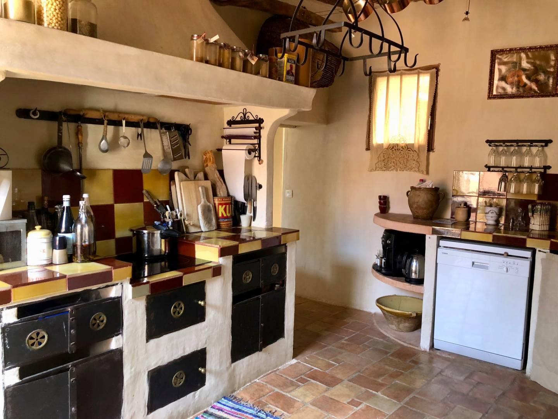 Kitchen Tile Chandelier