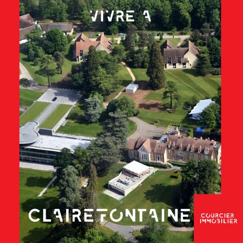 Vue du ciel Clairefontaine