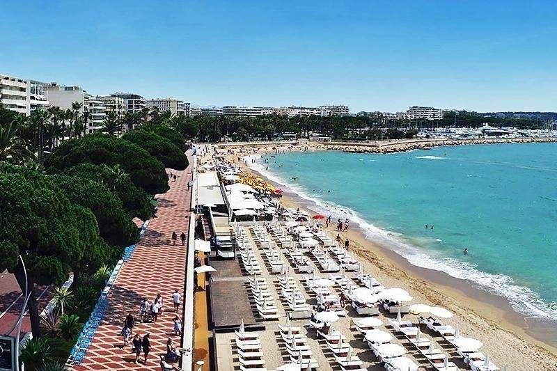 Cannes Banane Croisette Très beau Restaurant Axe n°1