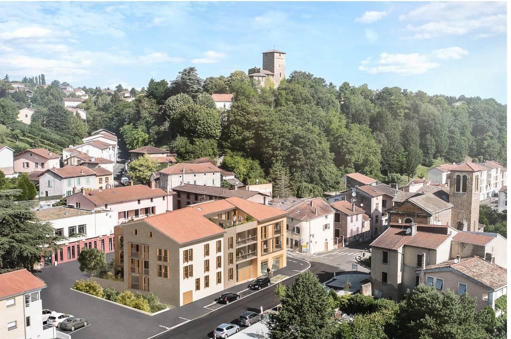 Appartement 85 m² avec terrasse - Albigny-sur-Saône