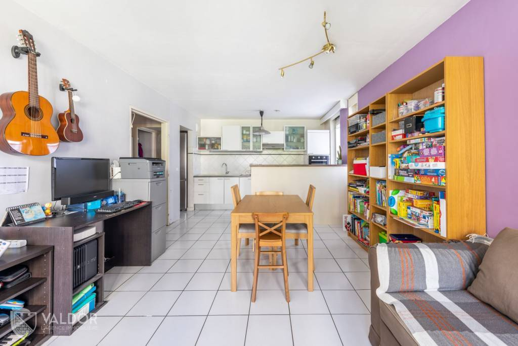 Appartement T3 de 61 m²  au calme.