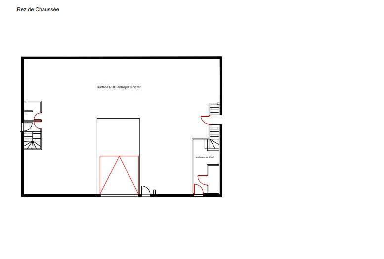 ENTREPOT + BUREAUX 509m2 - LUCENAY