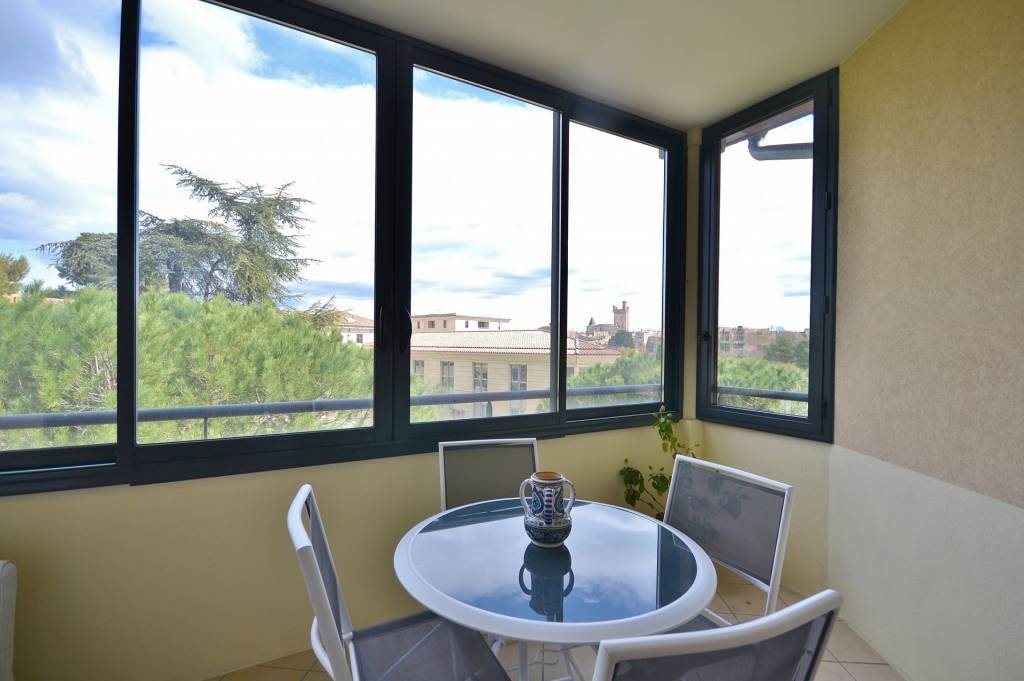 Apartment in the city center of Uzès