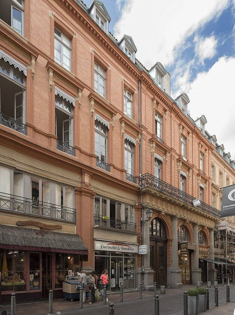 Rue des Tourneurs (Toulouse) - Hôtel Desplats ou de Palaminy