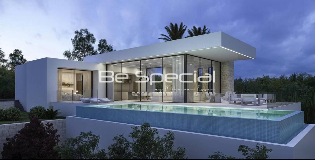 Villa nouvellement construite à Teulada, Moraira