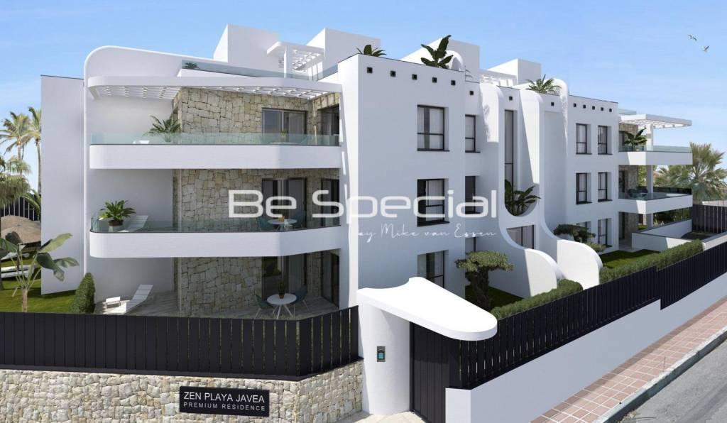 New Build Apartments 100 m from the Sea in Javea