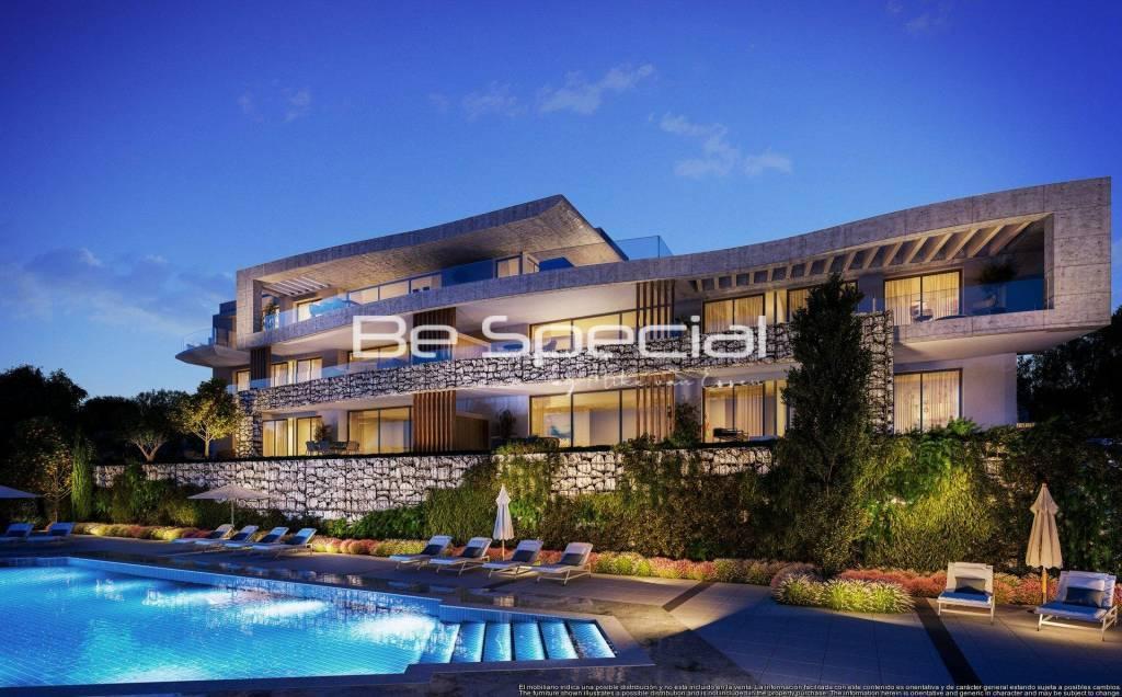 Nybygge Lägenhet Benahavís