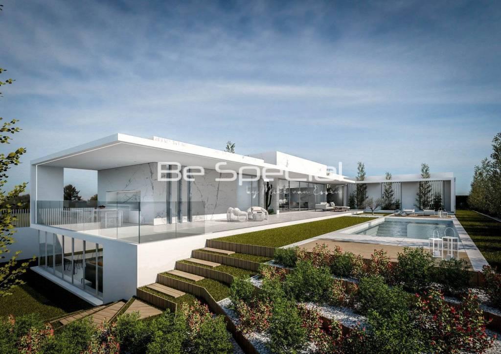 Another design in white concrete