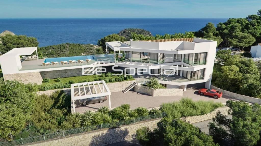 New design villa ready to start