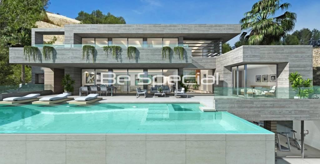 luxury modern villa for sale Residencial Jazmines Cumbre del Sol