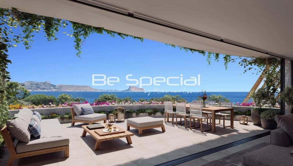 New construction project: Penthouse apartments Playa del Albir