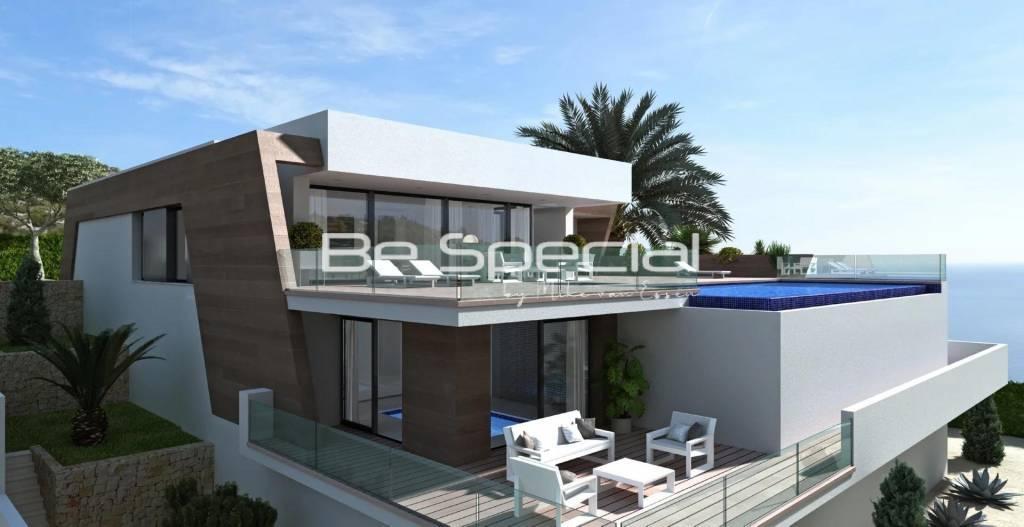 Villa Bellavista luxury modern villa for sale Residencial Jazmines Cumbre del Sol