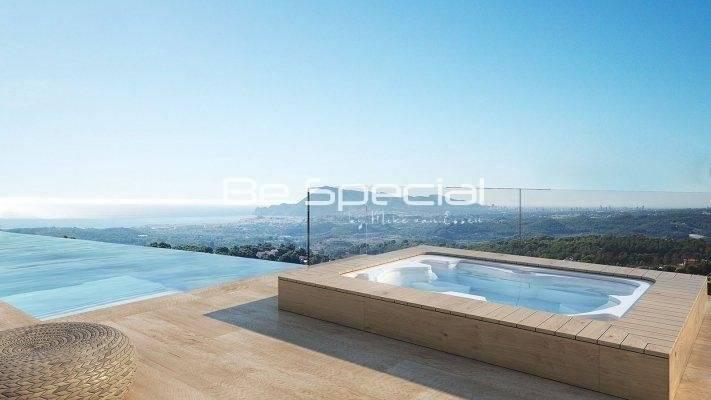 New Build Villa in Altea