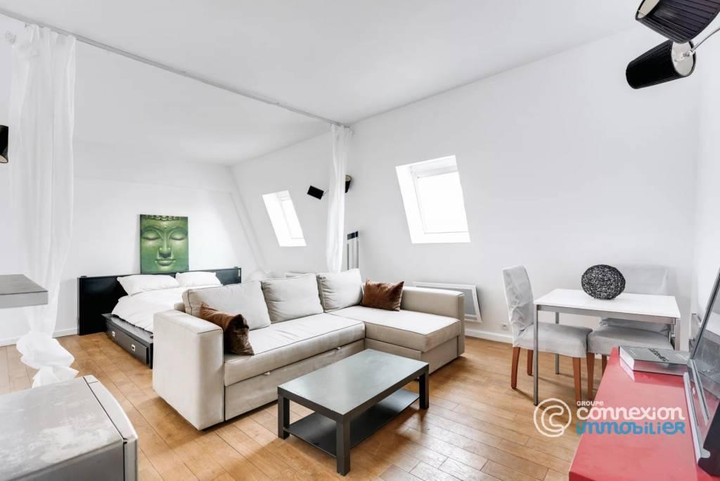 Grand studio dans une résidence de standing