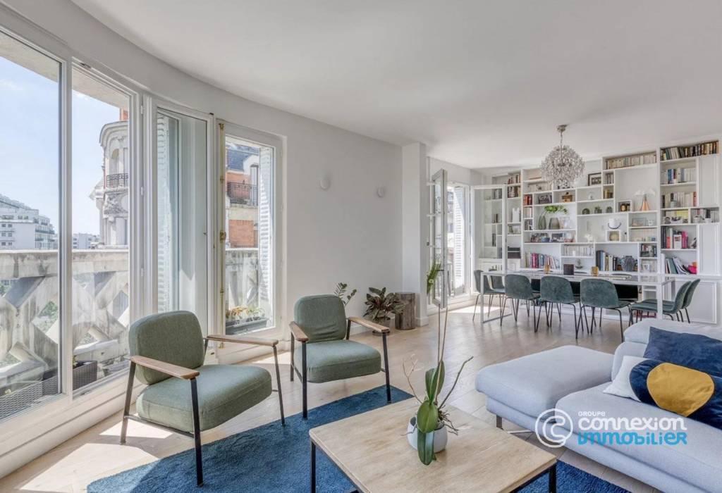 Appartement d'angle avec vue dégagée