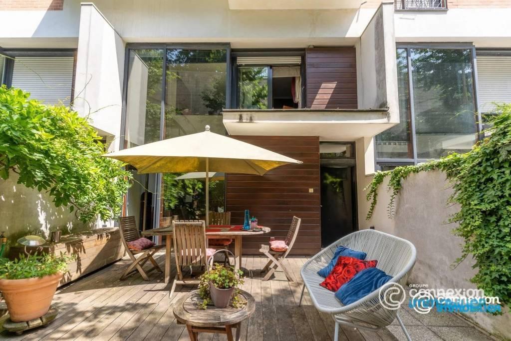 Duplex 5 pièces avec jardin et terrasse