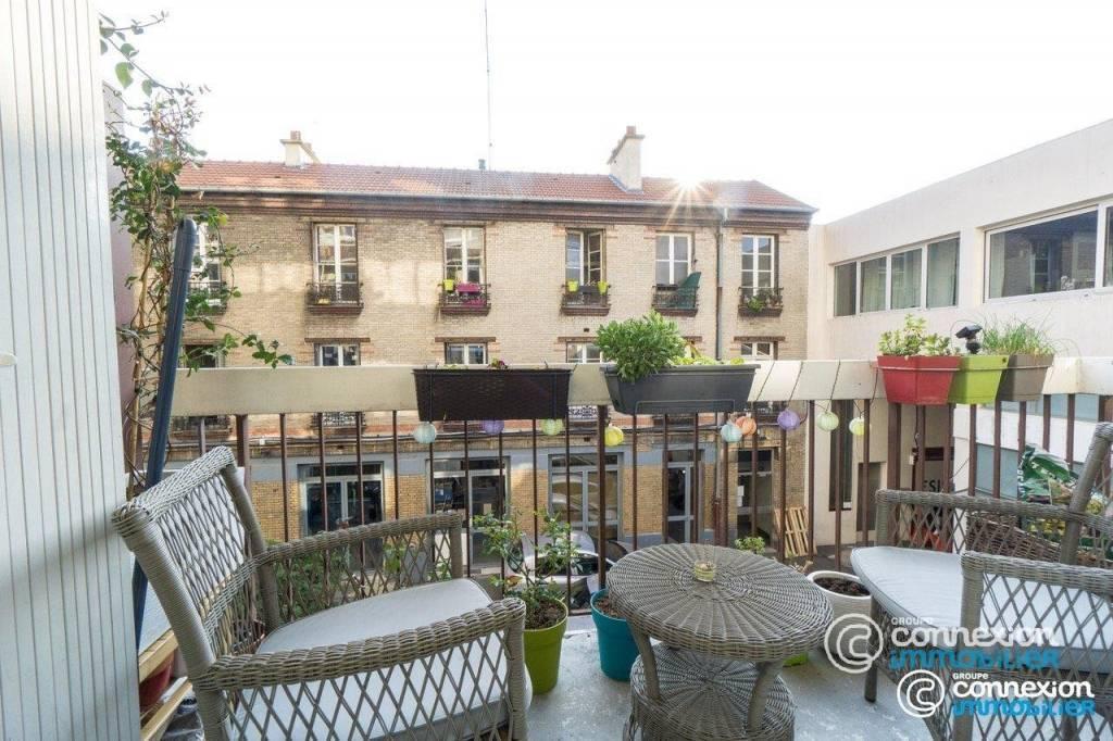 2 pièces de charme, balcon, plein sud