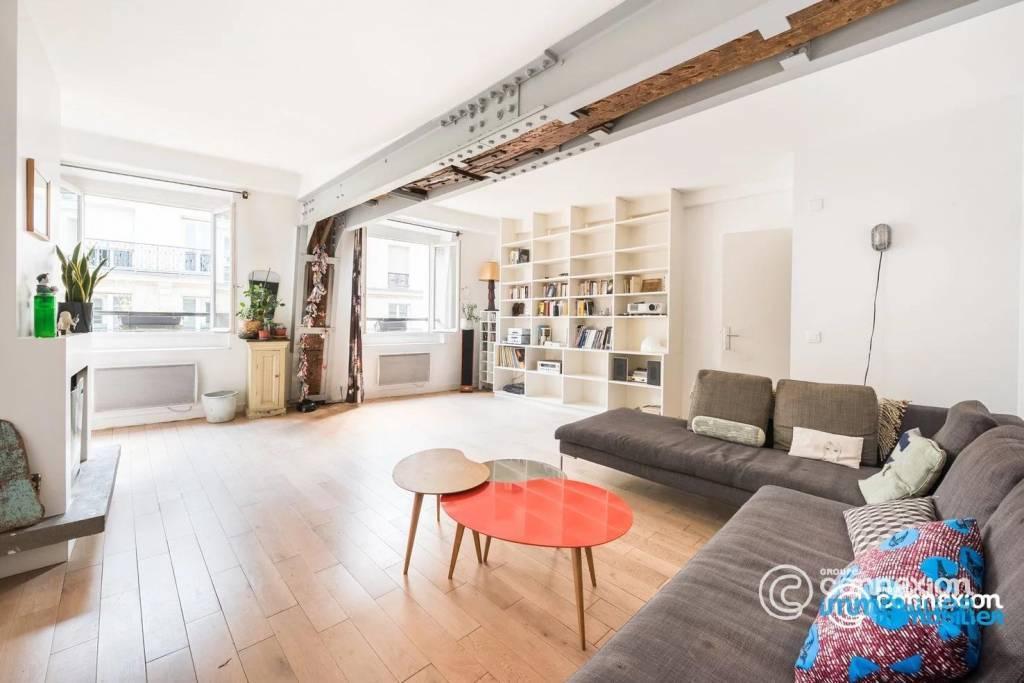 6 pièces / Saint-Honoré / Dernier étage