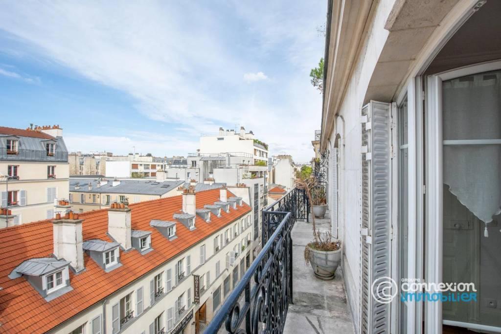 Haussmannien 5 ème étage, balcon filant
