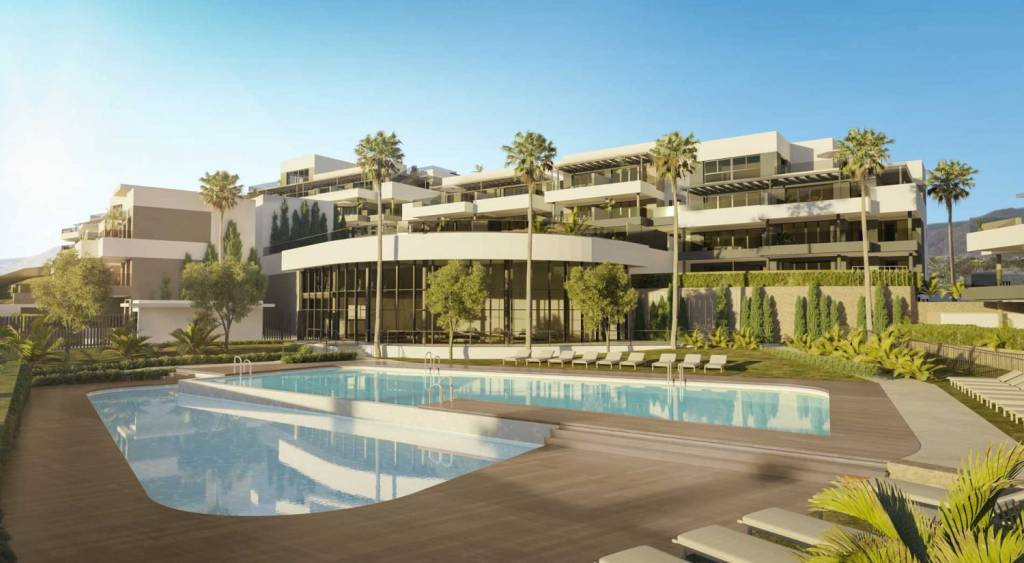New Build / Beautiful residential complex in a privileged area of Estepona with Sea view