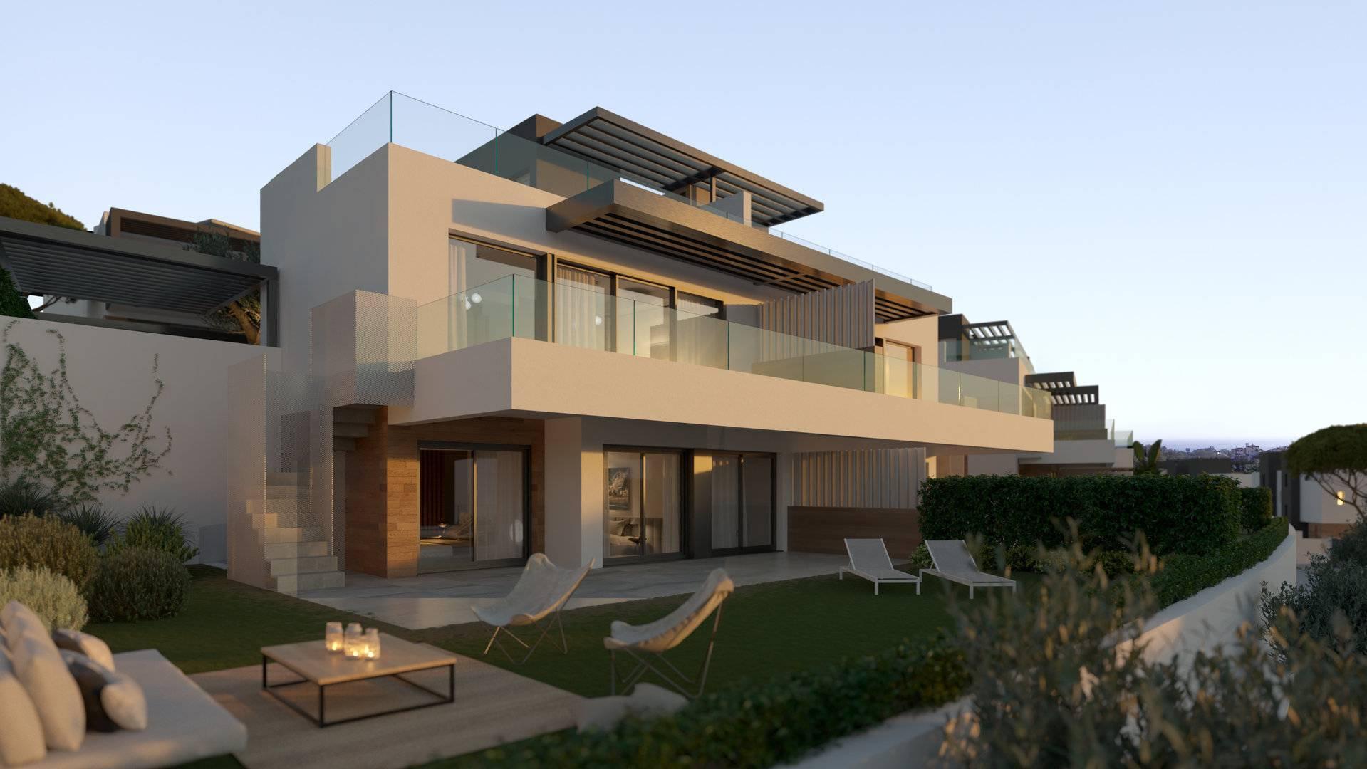 Development Twin Villa Estepona