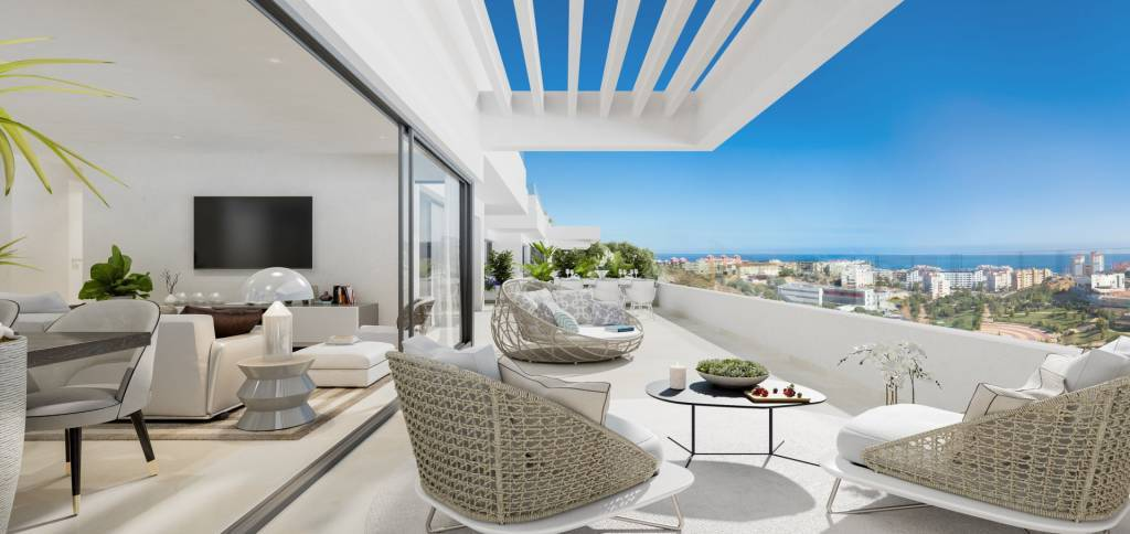 New construction / beautiful apartment with incredible sea views