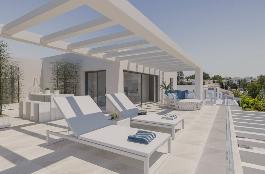 Nouvelle construction Incroyable penthouse de luxe à Estepona