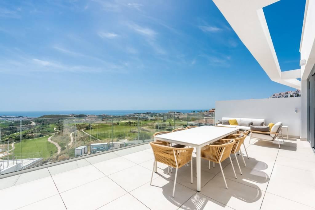 Penthouse de luxe avec vue sur l'océan et piscine privée