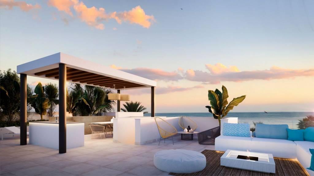Nouvelle construction / Magnifique appartement avec vue sur la mer