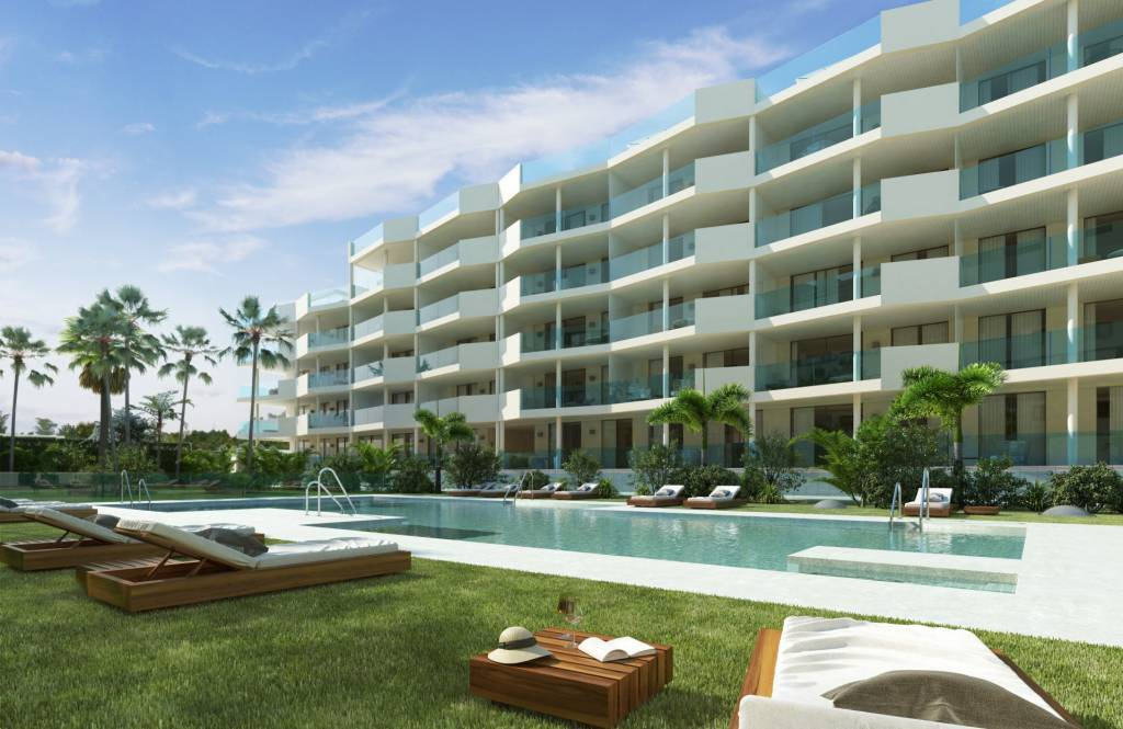 New construction / panoramic view / modern apartment / superb location on the costa del sol