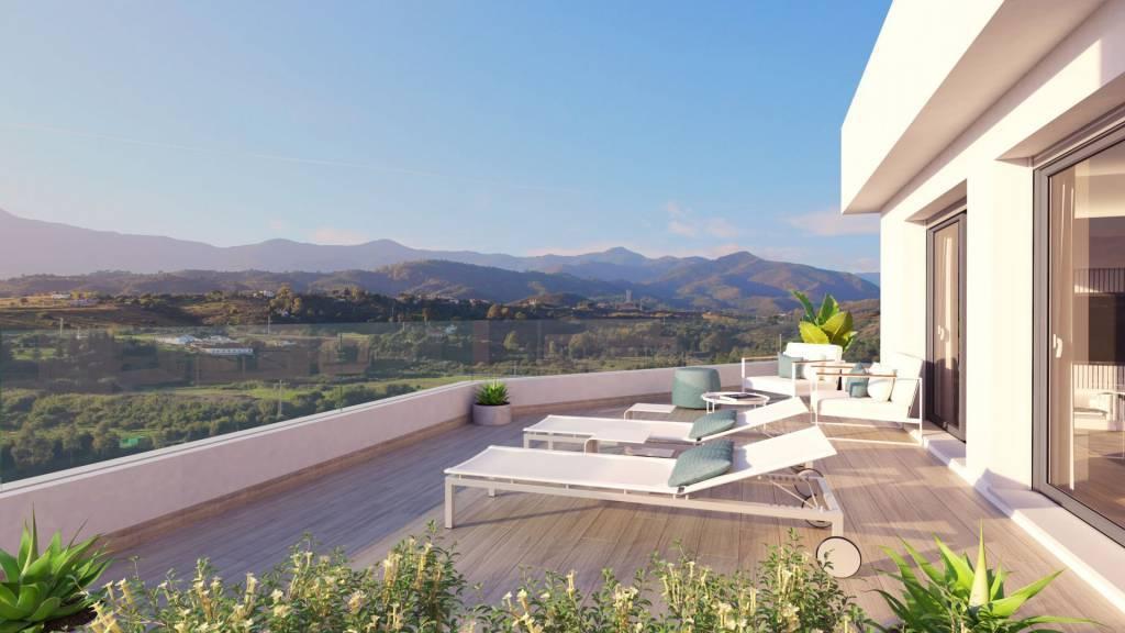 nouvelle construction / belle appartement dans l'un des quartiers les plus exclusifs de Marbella