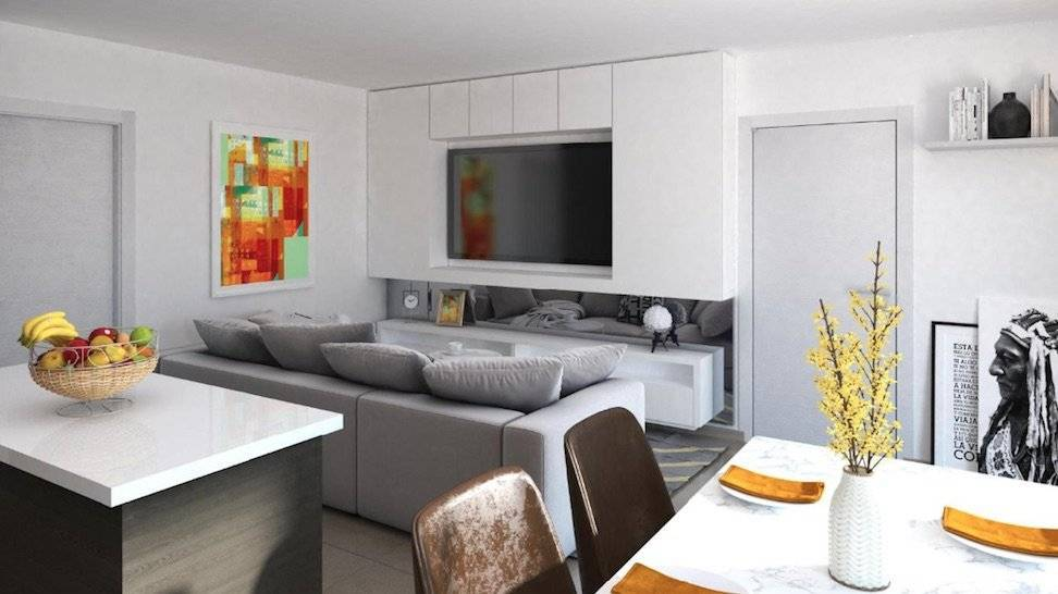 Living-room Kitchen island