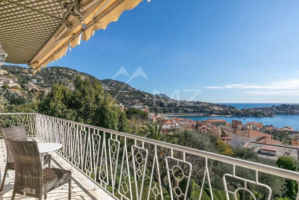 VILLEFRANCHE-SUR-MER - PANORAMIC SEA VIEW
