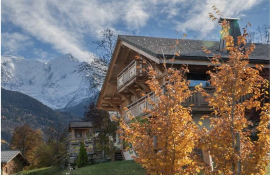 Luxury Chalet with Mont Blanc views in St Gervais-les-Bains