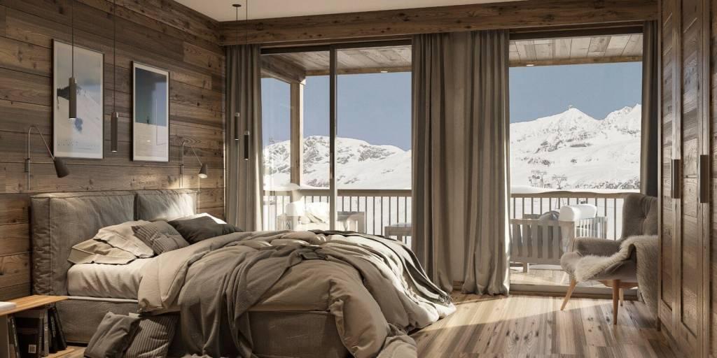 ATYPICAL 1 BEDROOM APARTMENT WITH CABIN IN THE LAC BLANC RESIDENCE