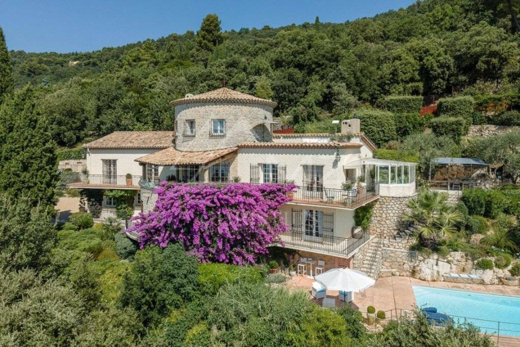FOR SALE - CANNES BACKCOUNTRY - PANORAMIC SEAVIEW