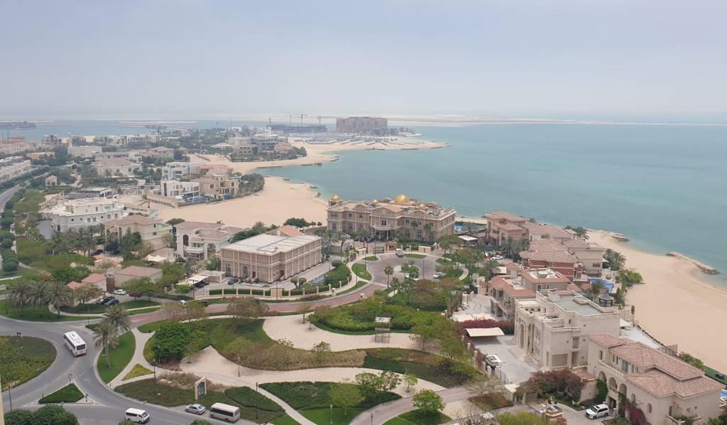 Luxury Sea View Semi Furnished Flat With Balcony