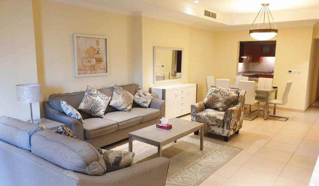 Fabulous new furnished 1 bedroom apartment