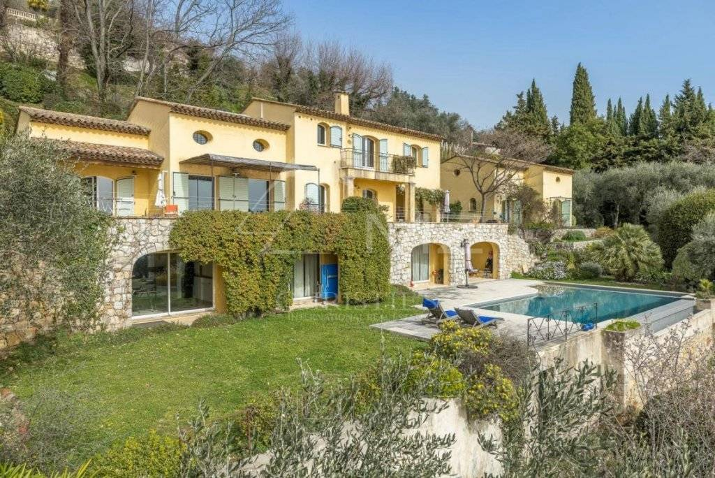 FOR SALE - CANNES BACKCOUNTRY - SPECTACULAR PANORAMIC SEA VIEW